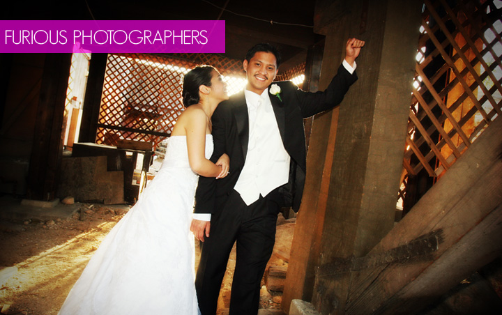 pomona valley mining company wedding picture