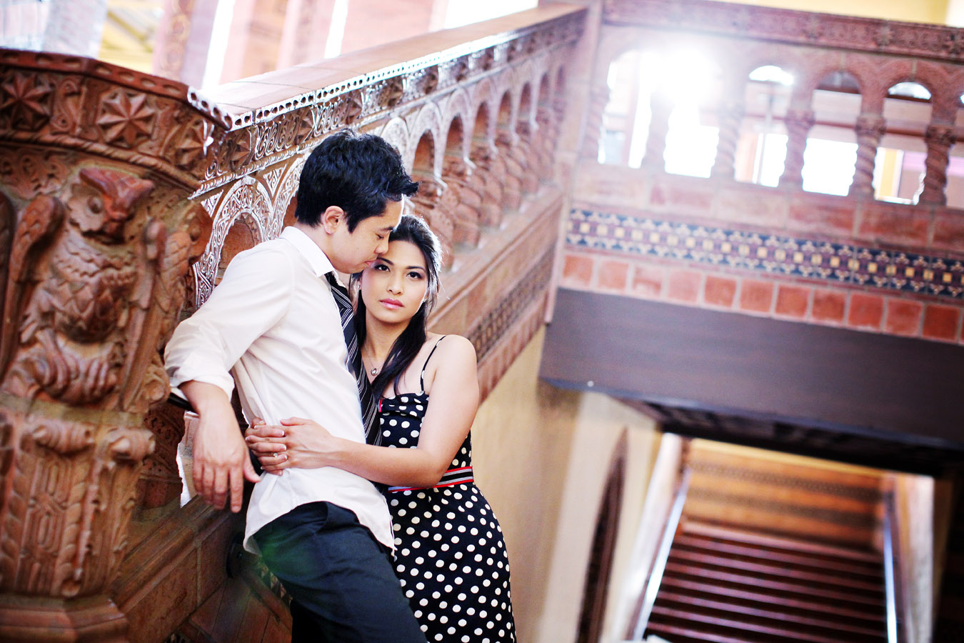 ucla engagement photographs