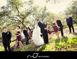 arboretum arcadia wedding photography
