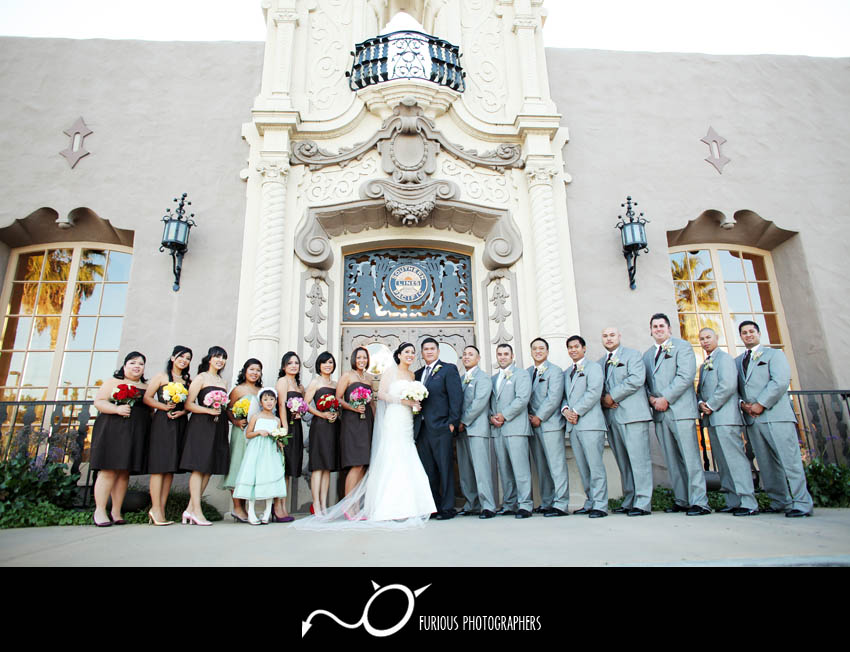hilton wedding photography glendale