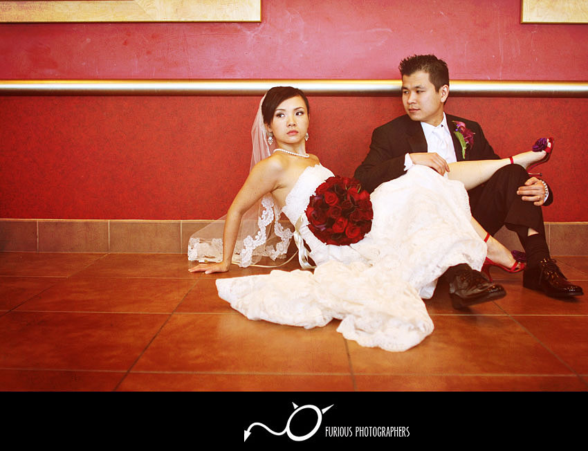 hilton wedding photography san gabriel