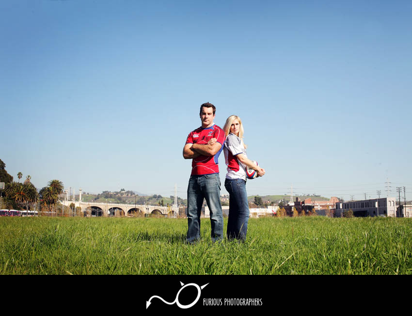 la engagement photographers