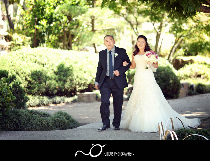 long beach japanese garden wedding photography