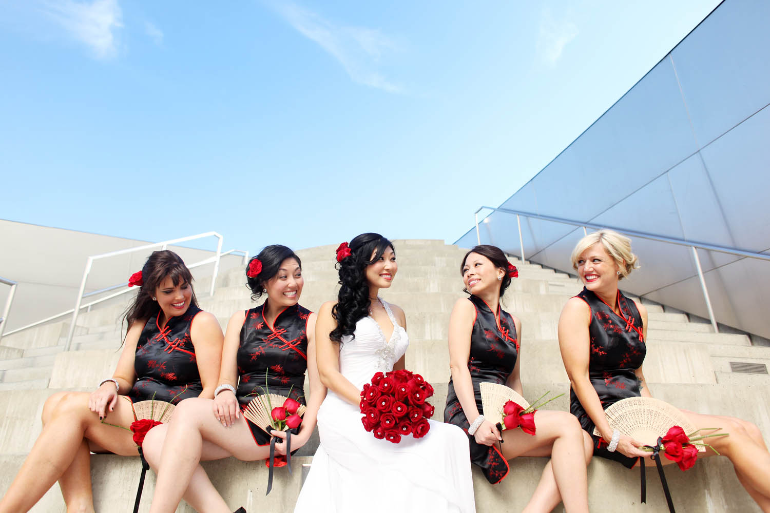 disney concert hall wedding photos