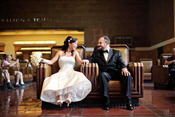 los angeles union station wedding photographers