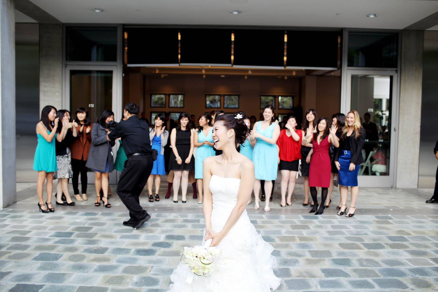 skirball cultural center wedding photos