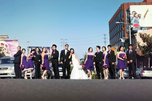 london hotel west hollywood wedding photography