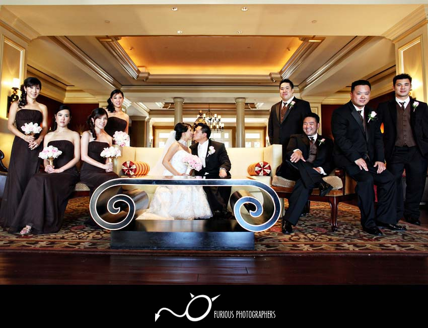 pasadena langham wedding photography