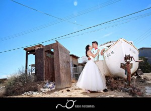 trash the dress wedding photography